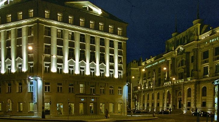 Praag, Hotel 987 Prague, Façade hotel
