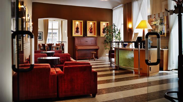 Praag, Hotel Adler Praha, Lobby