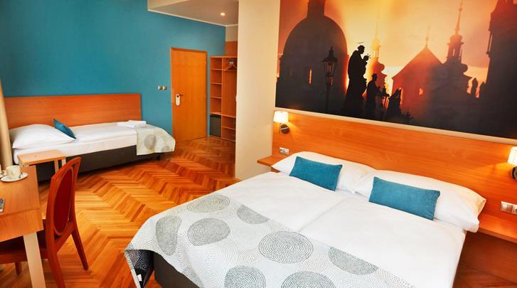 Praag, Hotel Adler Praha, Standaard kamer met extra bed