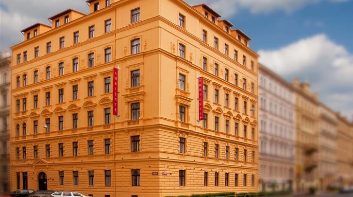Praag, Hotel Ambiance, Façade hotel