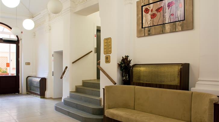 Praag, Hotel Ambiance, Lobby