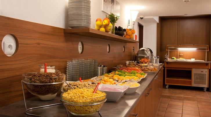 Praag, Hotel Ambiance, Ontbijtbuffet