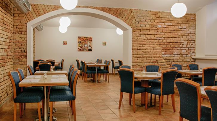 Praag, Hotel Ambiance, Ontbijtruimte