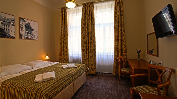 Praag, Hotel Anna, Eénpersoonskamer