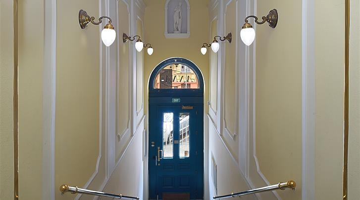 Praag, Hotel Anna, Entree