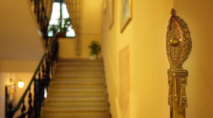 Praag, Hotel Anna, Hal