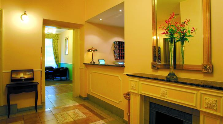 Praag, Hotel Anna, Receptie