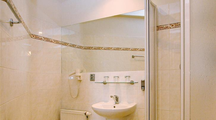 Praag, Hotel Atos, Badkamer