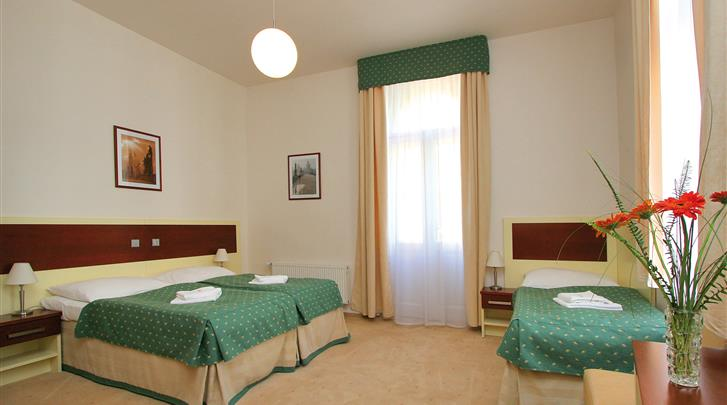 Praag, Hotel Atos, Standaard kamer met extra bed
