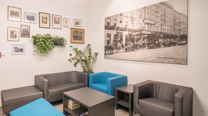 Praag, Hotel Beranek, Lobby