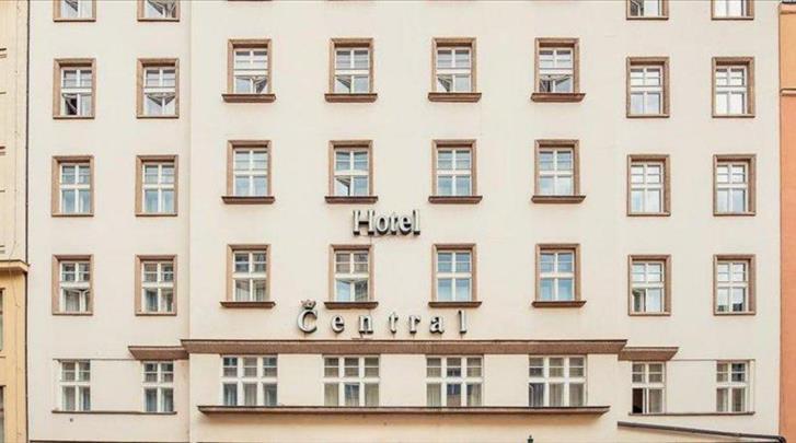 Praag, Hotel Central Prague, Façade hotel