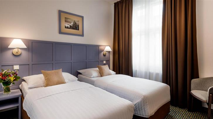Praag, Hotel Central Prague, Standaard kamer