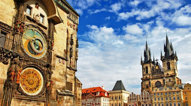 Praag, Hotel Central Prague, Staromestské namesti (Old Town Square) op 500m.