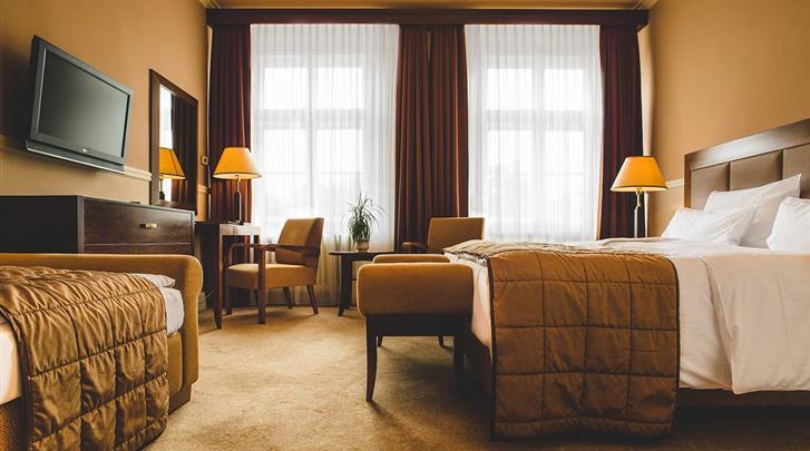 Praag, Hotel Esplanade, Standaard kamer