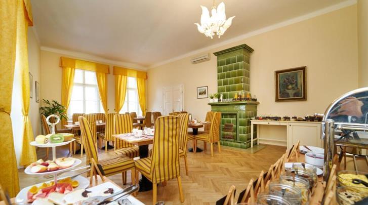 Praag, Hotel Josephine Old Town Square, Ontbijtruimte