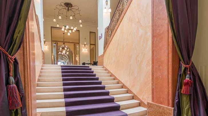 Praag, Hotel K+K Central, Entree
