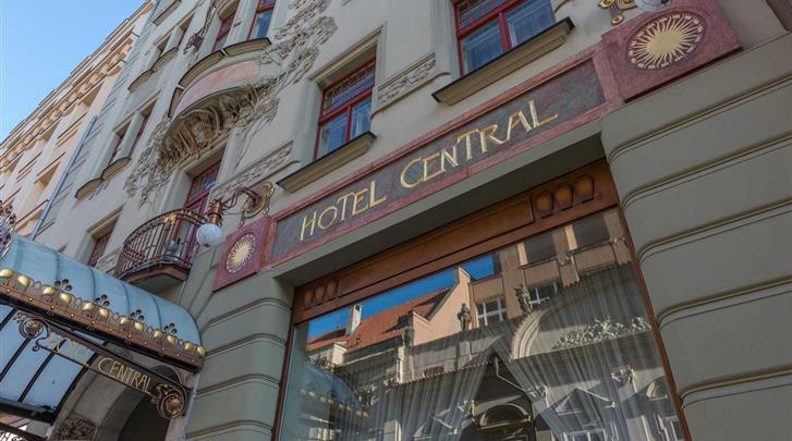 Praag, Hotel K+K Central, Façade hotel