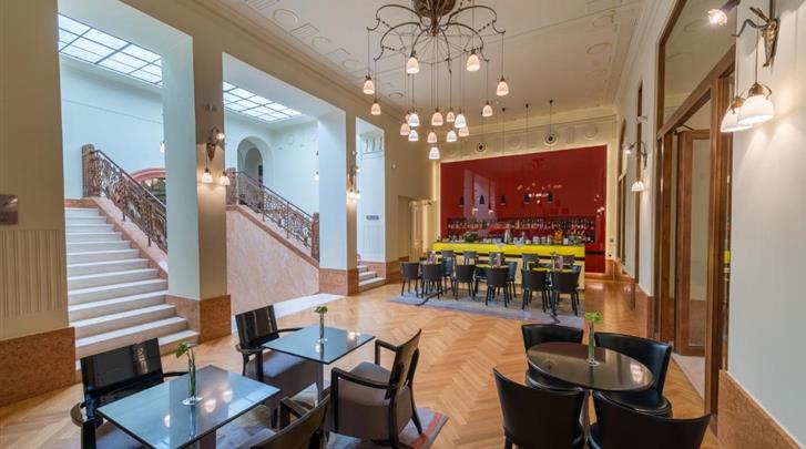 Praag, Hotel K+K Central, Hotelbar