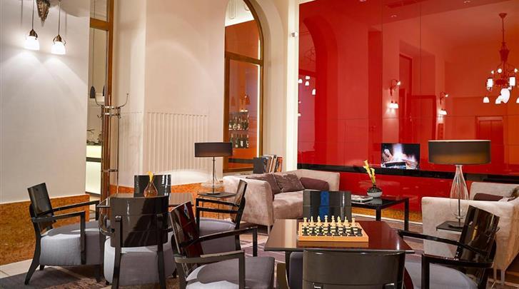 Praag, Hotel K+K Central, Lobby