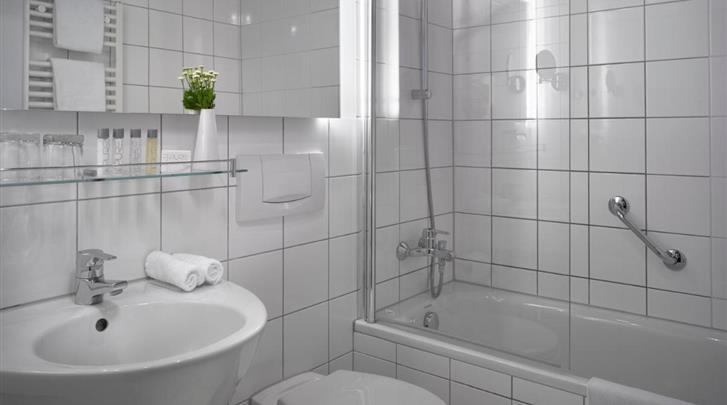 Praag, Hotel K+K Fenix, Badkamer