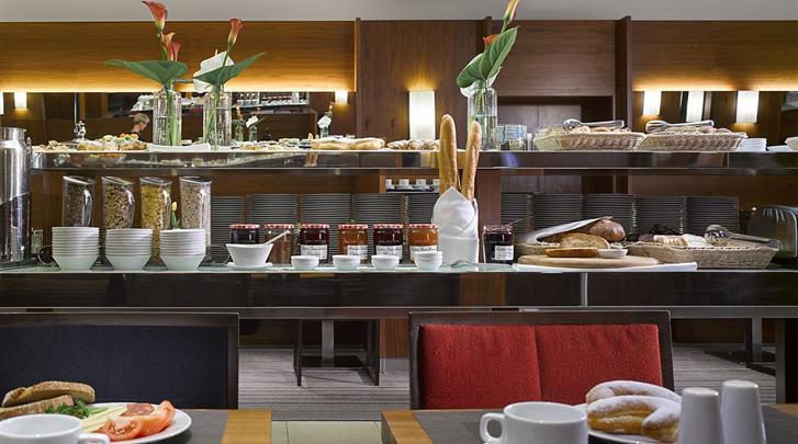 Praag, Hotel K+K Fenix, Ontbijtbuffet