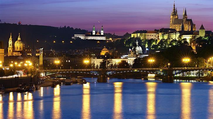 Praag, Hotel Lindner Prague Castle, Façade hotel