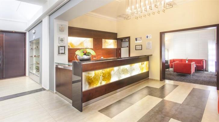 Praag, Hotel Lunik, Lobby