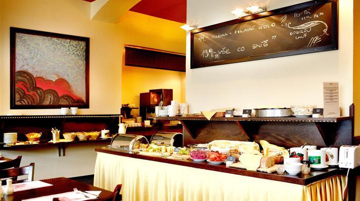 Praag, Hotel Merkur, Buffet