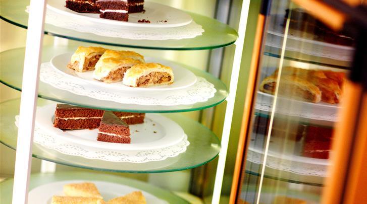 Praag, Hotel Merkur, Desserts
