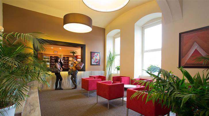 Praag, Hotel Merkur, Lobby