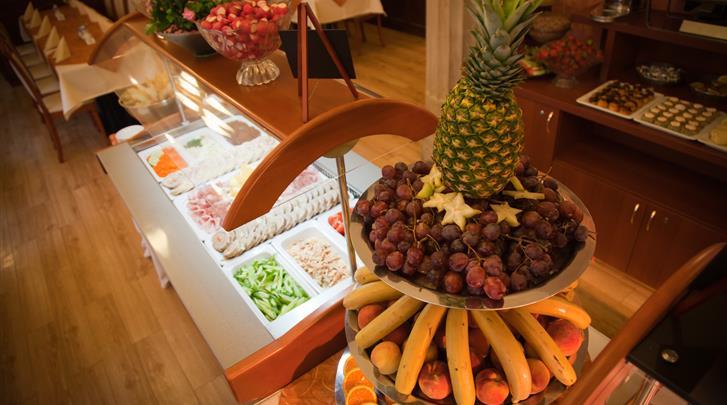 Praag, Hotel Meteor Plaza, Ontbijtbuffet
