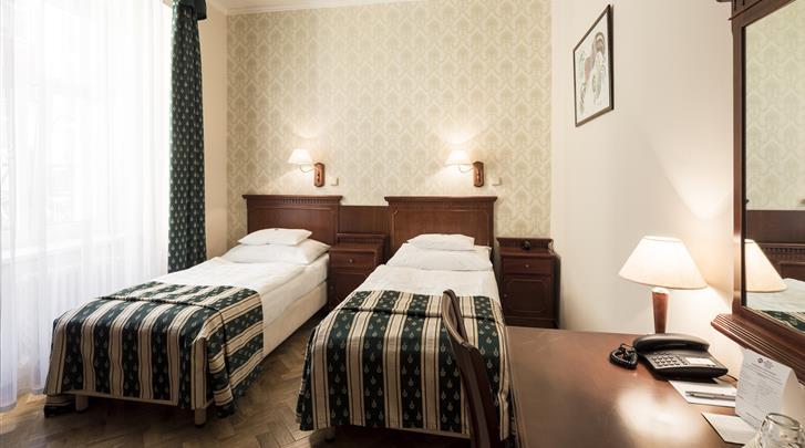 Praag, Hotel Meteor Plaza, Standaard kamer