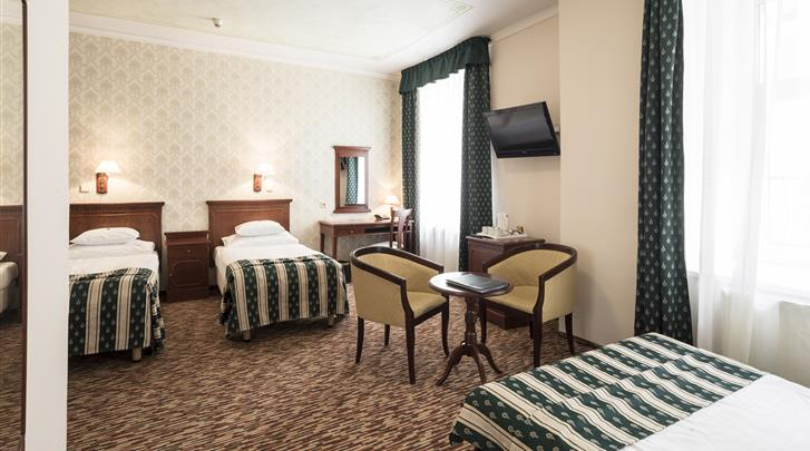 Praag, Hotel Meteor Plaza, Triple kamer