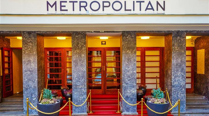 Praag, Hotel Metropolitan Old Town, Façade hotel
