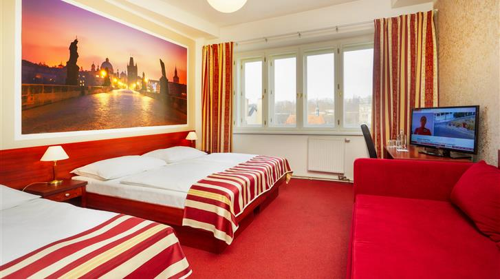 Praag, Hotel Metropolitan Old Town, Familiekamer