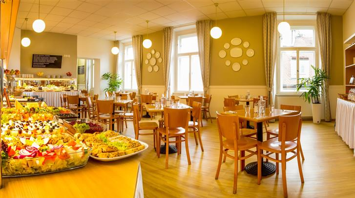 Praag, Hotel Metropolitan Old Town, Ontbijtbuffet