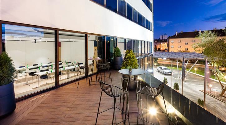 Praag, Hotel Occidental Praha, Terras