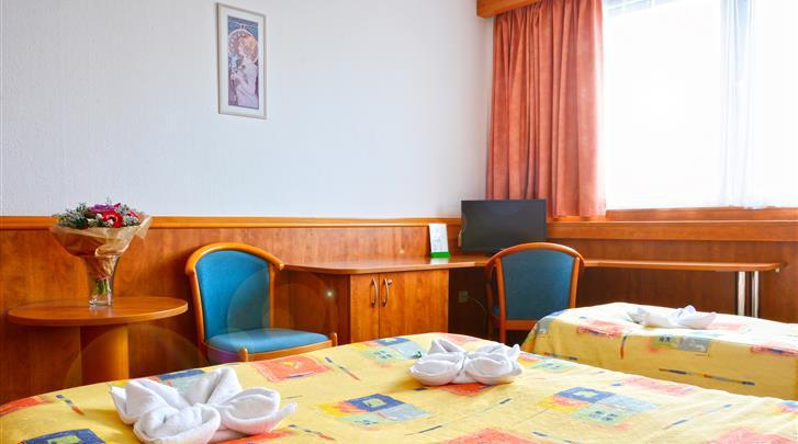 Praag, Hotel Olympik, Standaard kamer