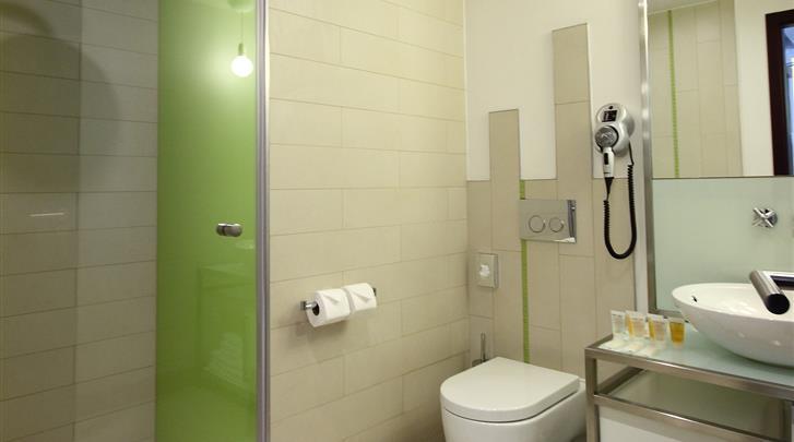 Praag, Hotel Pure White, Badkamer