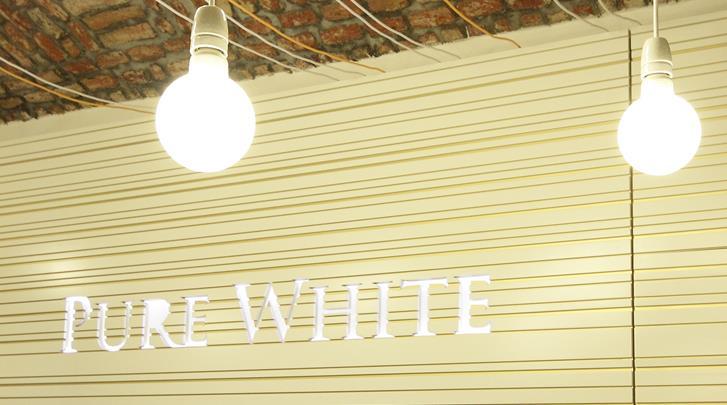 Praag, Hotel Pure White, Receptie