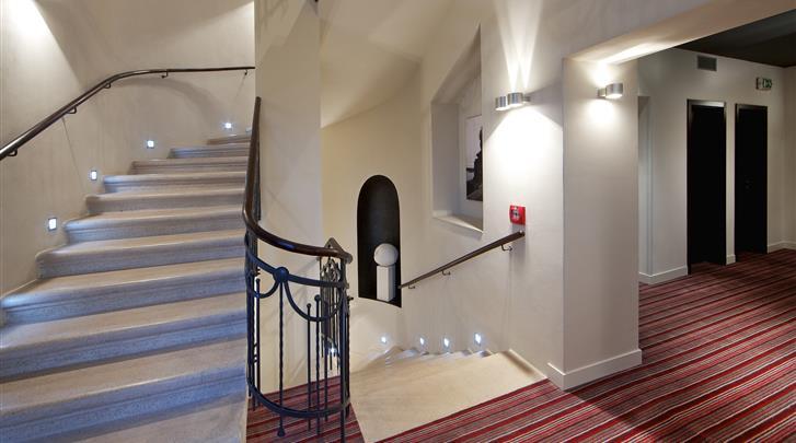 Praag, Hotel Red & Blue Design, Hal