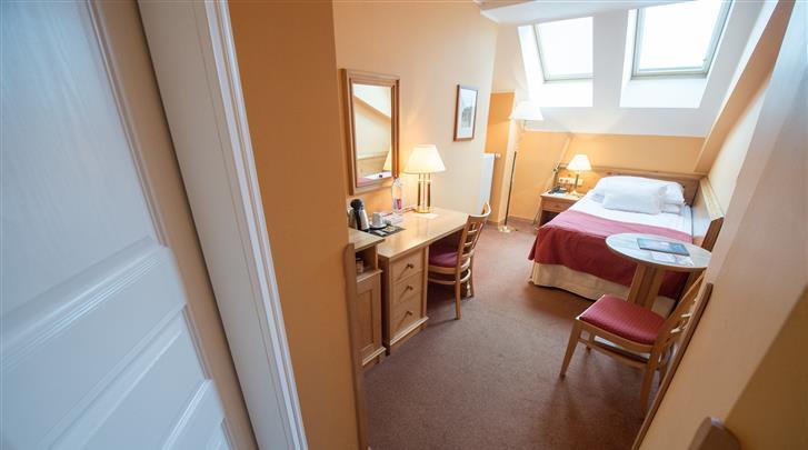 Praag, Hotel Rott, Eénpersoonskamer