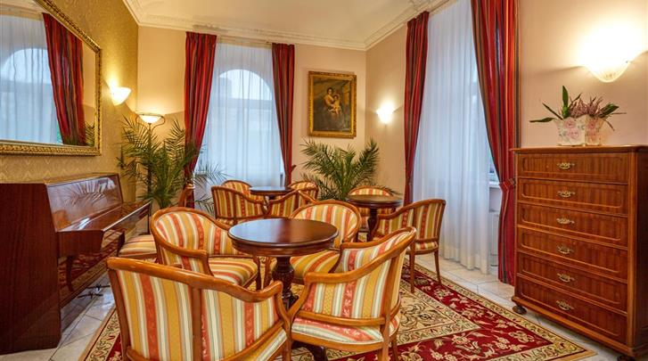 Praag, Hotel St. George, Lobby