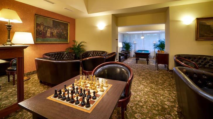 Praag, Hotel St. George, Lounge