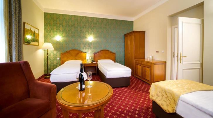 Praag, Hotel St. George, Standaard kamer