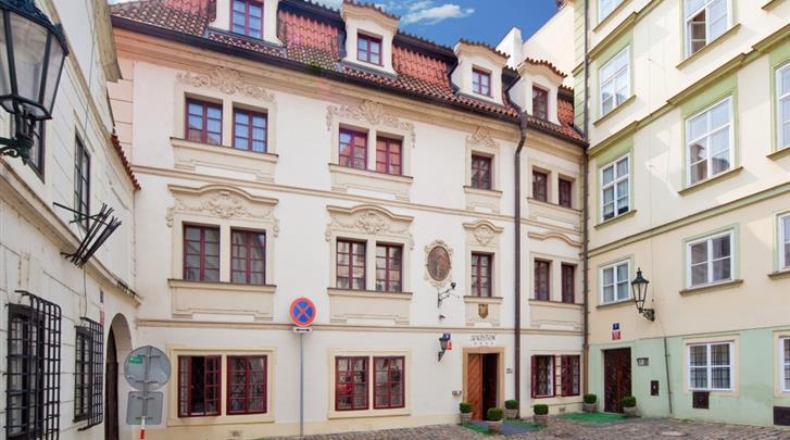 Praag, Hotel Waldstein, Façade hotel