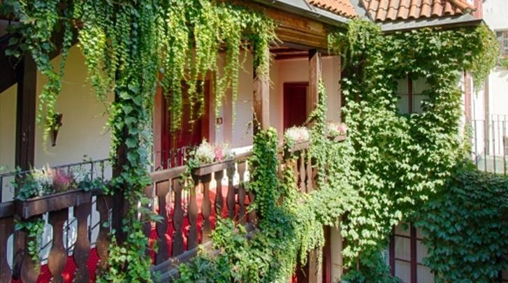 Praag, Hotel Waldstein, Galerij
