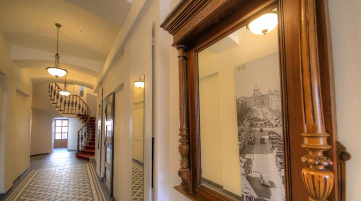 Praag, Hotel Wenceslas Square, Hal