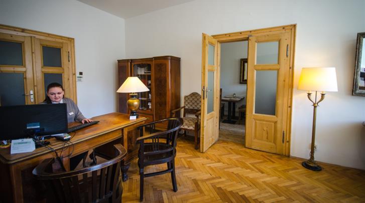 Praag, Hotel Wenceslas Square, Receptie