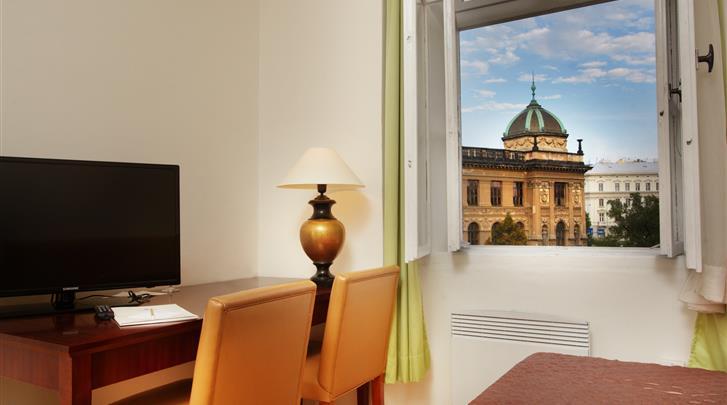 Praag, Hotel Wenceslas Square, Standaard kamer